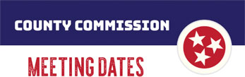 County Commission Meeting Dates
