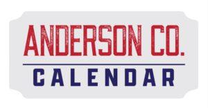 Anderson County Calendar