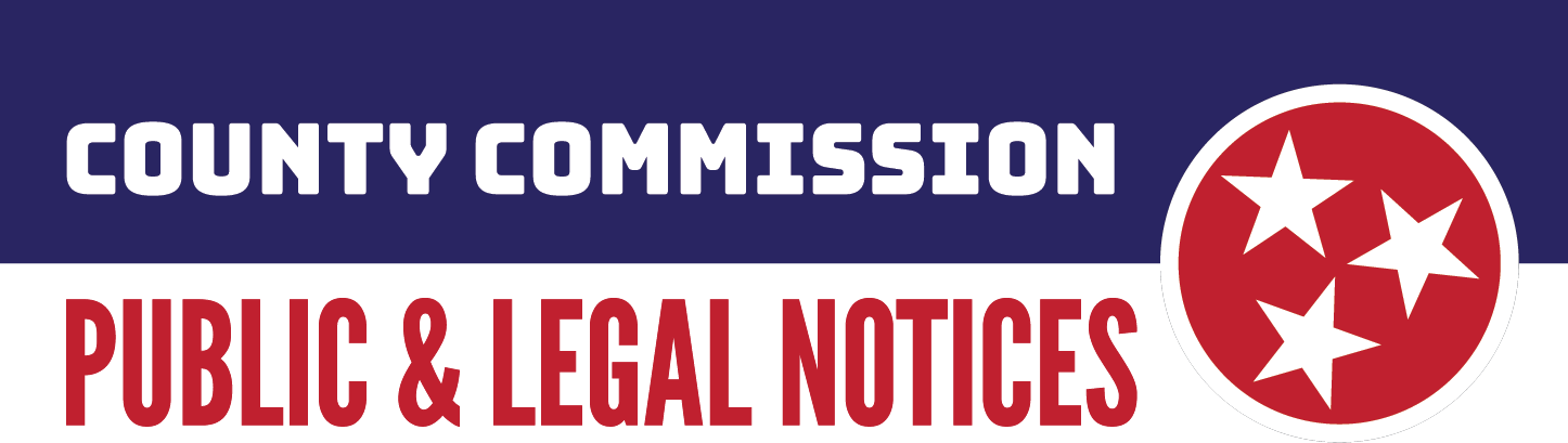 County Commmission Public and Legal Notices